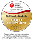 American Heart Association Fit Friendly logo 2013